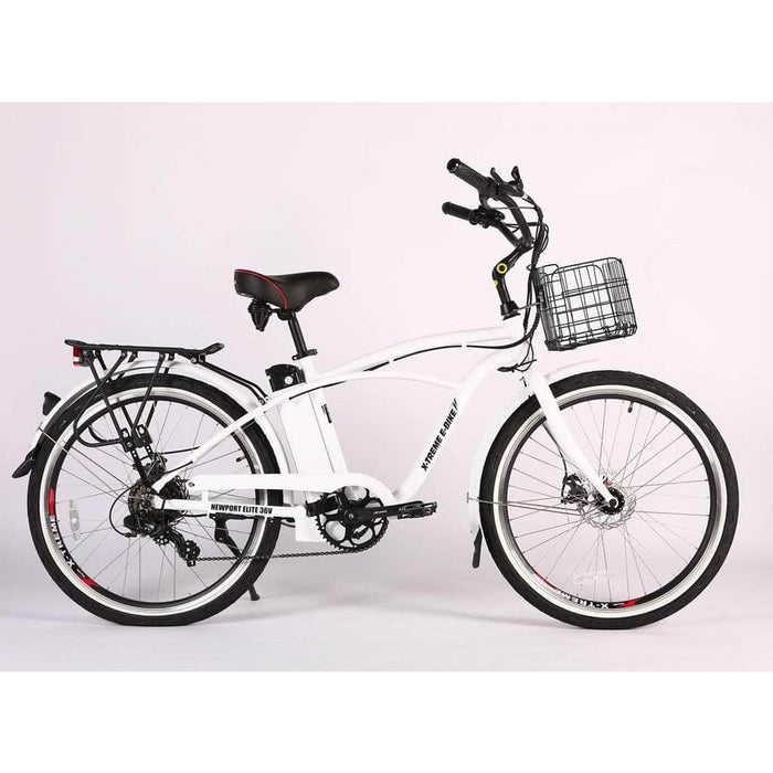 X-Treme Electric Bikes X-Treme Newport Elite Max 36 Volt 350W Electric Cruiser Bike
