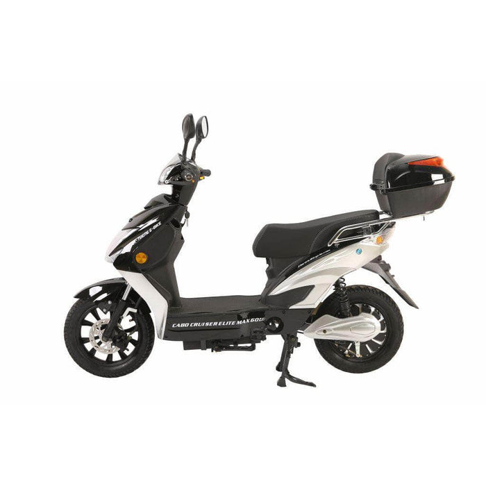 X-Treme Scooters Black Xtreme Cabo Cruiser Elite Max 60 Volt Electric Scooter 2021 Edition (NEW)