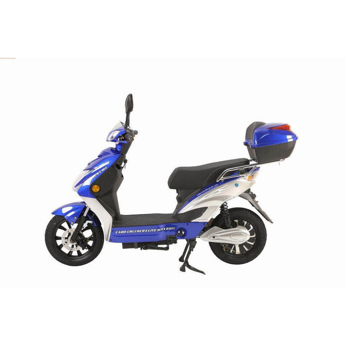 X-Treme Scooters Blue Xtreme Cabo Cruiser Elite Max 60 Volt Electric Scooter 2021 Edition (NEW)
