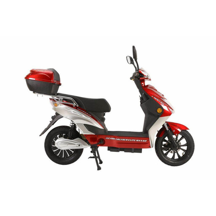 X-Treme Scooters Red Xtreme Cabo Cruiser Elite Max 60 Volt Electric Scooter 2021 Edition (NEW)