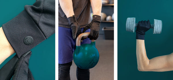 ANTI-BACTERIAL FITNESS GLOVES