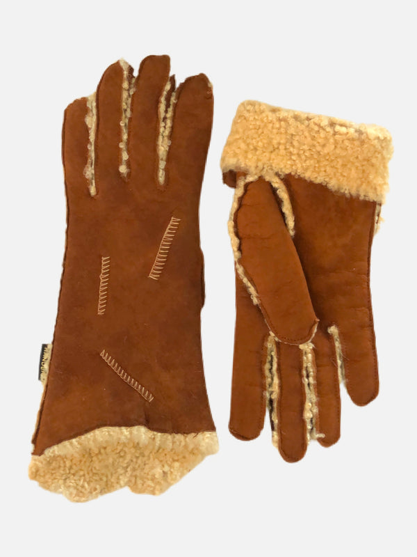100057 Curly Lamb, Female Gloves