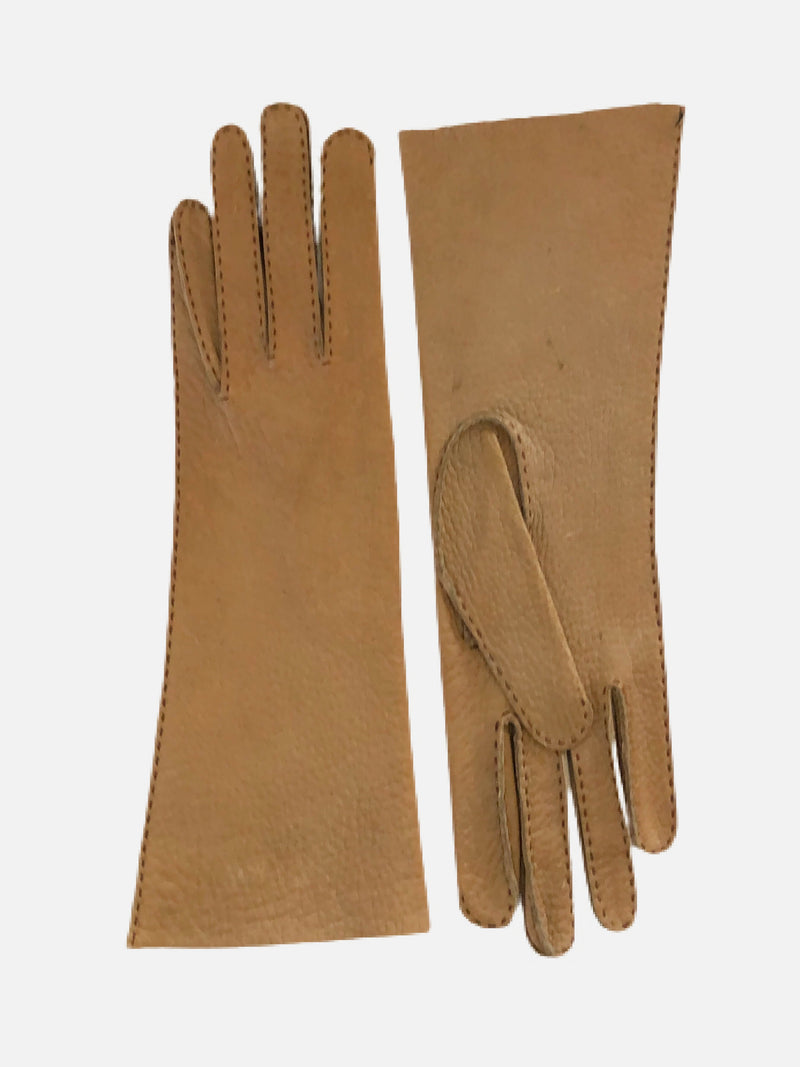 "100685 4"" Peccary, Unlined, Female Gloves HS"