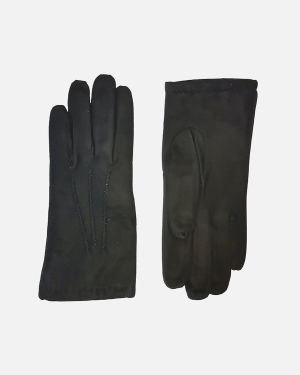 101022 Suede, Wool, Female Gloves HS