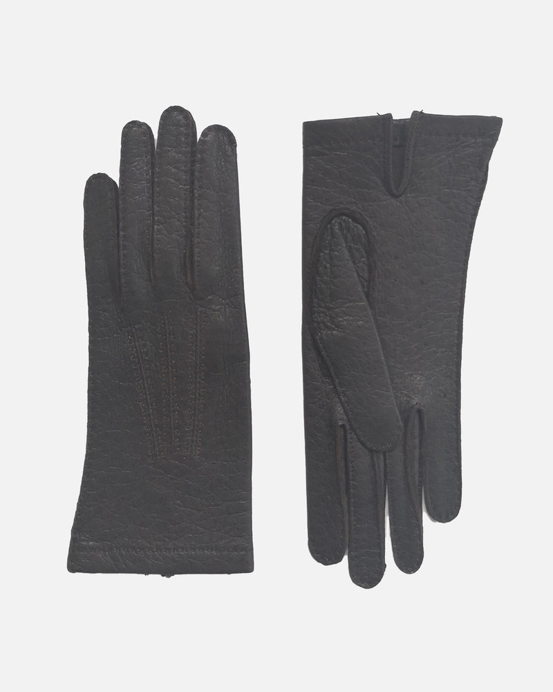 101025 Peccary, Unlined, Female Gloves HS