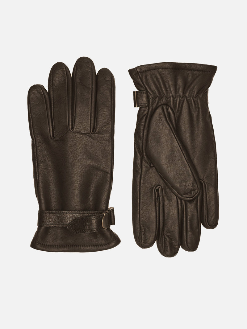 400245 Kid, Micropile, Brown, Male Gloves