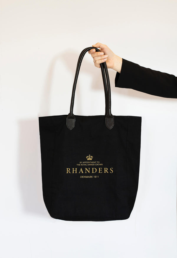 Crown Logo Canvas Tote
