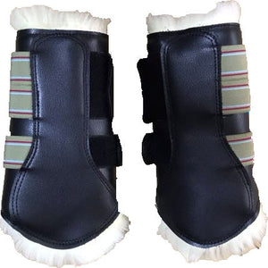 Clearance Lambskin exercise boots