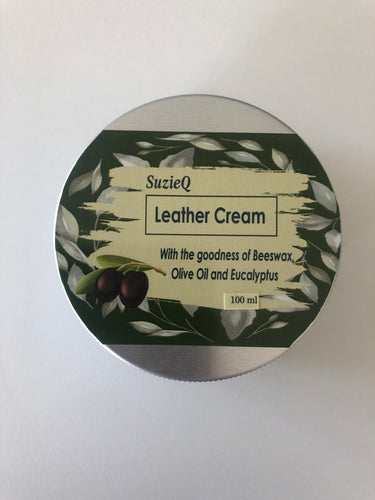 Leather cream - travel size