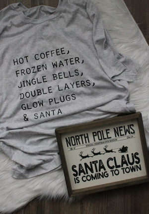 HOT COFFEE AND SANTA