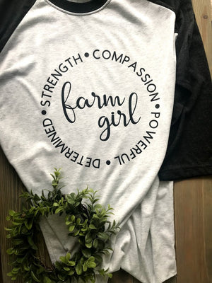STRENGTH OF A FARM GIRL