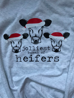 JOLLIEST HEIFERS