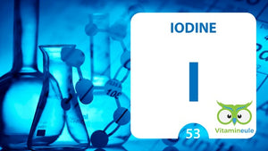 The importance of iodine for the thyroid gland