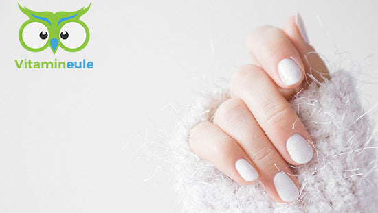 Naturally strong nails with biotin