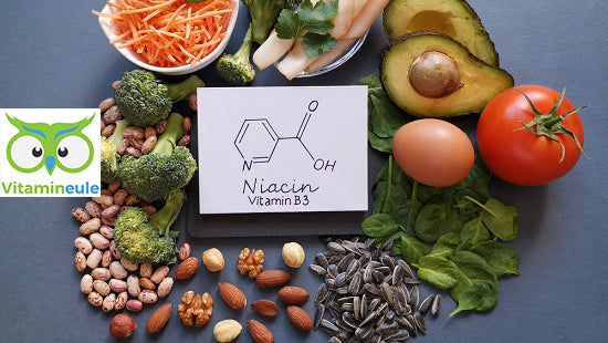 Niacin for the energy metabolism