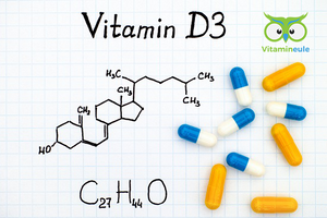Identifying and correcting vitamin D3 deficiency