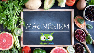 Magnesium - for a healthy nervous system & against cramps