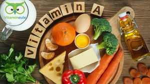 Vitamin A - daily requirement, deficiency & food