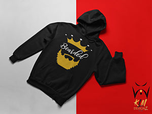 Bearded pull over hoodie