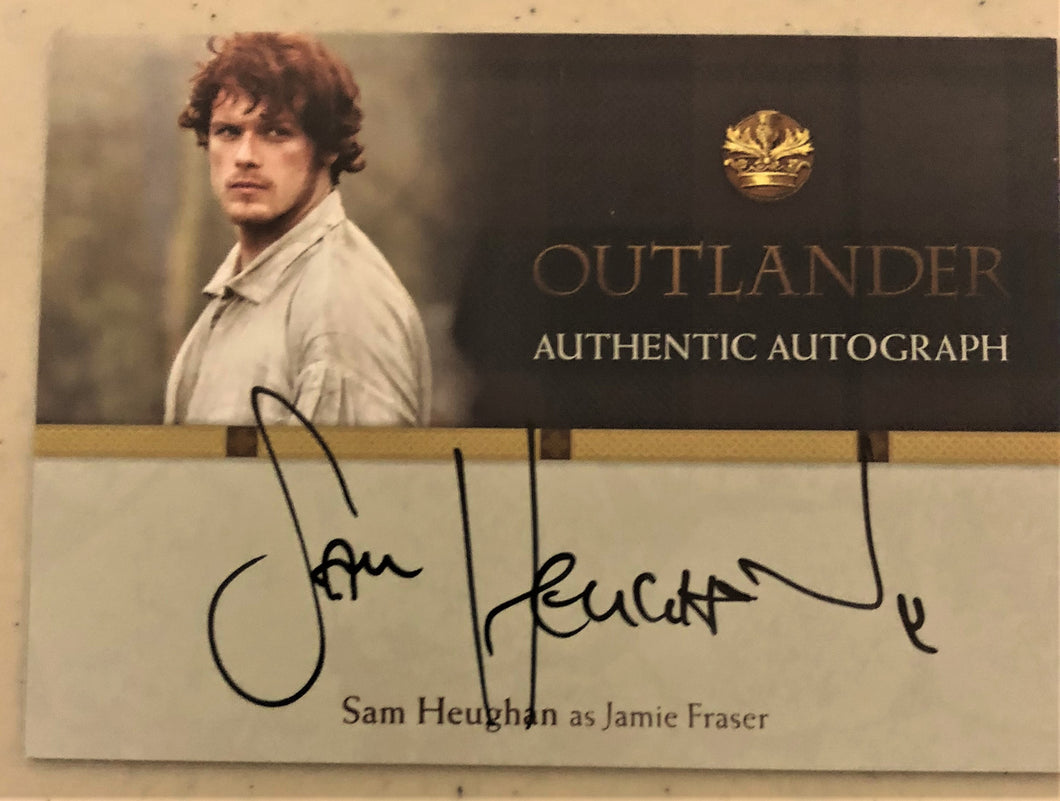 Outlander Season 1 Trading Card SH : Sam Heughan Autograph; as Jamie Fraser