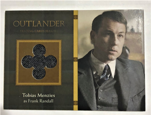Outlander Season 1 Trading Card  Wardrobe M03: Tobias Menzies as Frank Randall