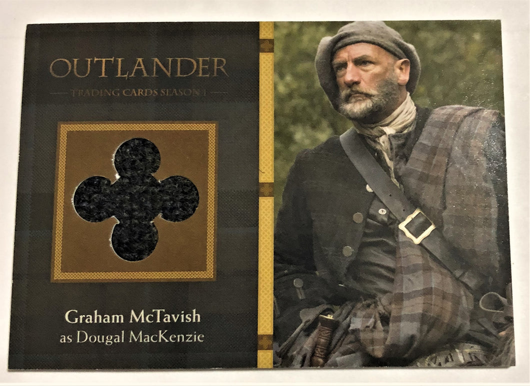 Outlander Season 1 Trading Card  Wardrobe M05:  Graham McTavish as Dougal MacKenzie