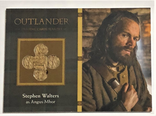 Outlander Season 1 Trading Card  Wardrobe M19: Stephen Walters as Angus Mhor
