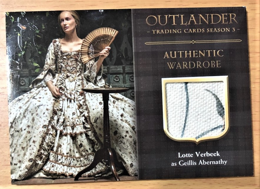 Outlander Season 3 Trading Card M18