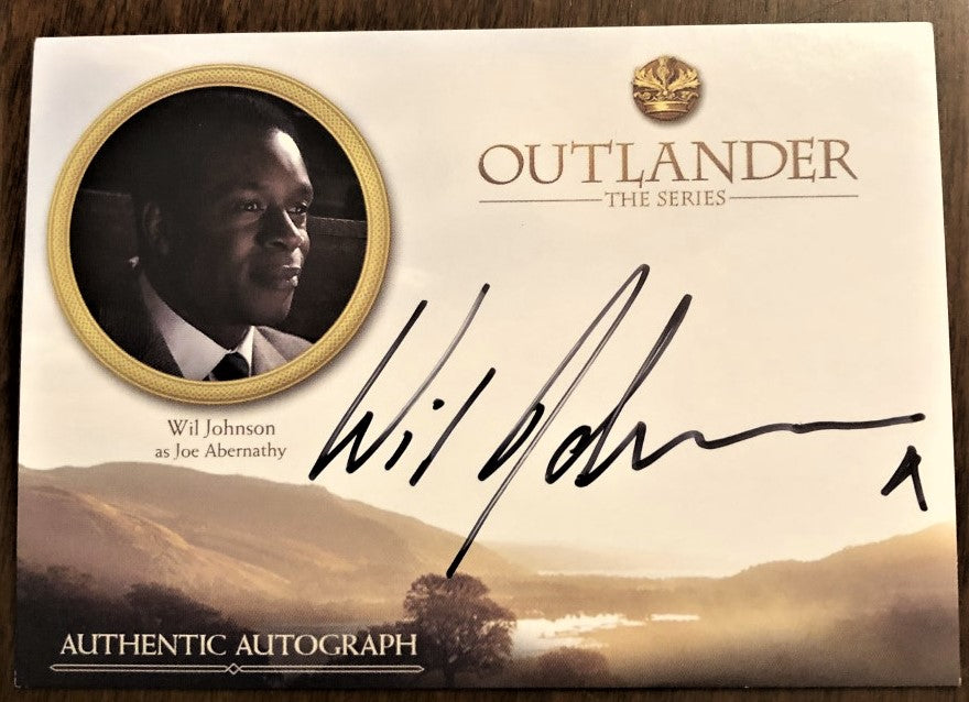 Outlander Season 3 Trading Card WJ: Wil Johnson as Joe Abernathy