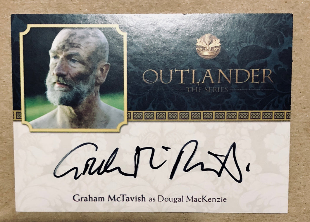 Outlander Season 2: Graham McTavish Autograph: Dougal MacKenzie: GM Trading Card
