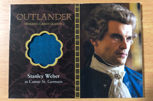 Outlander Season 2 Wardrobe Card M08: Comte St. Germain: Stanley Weber