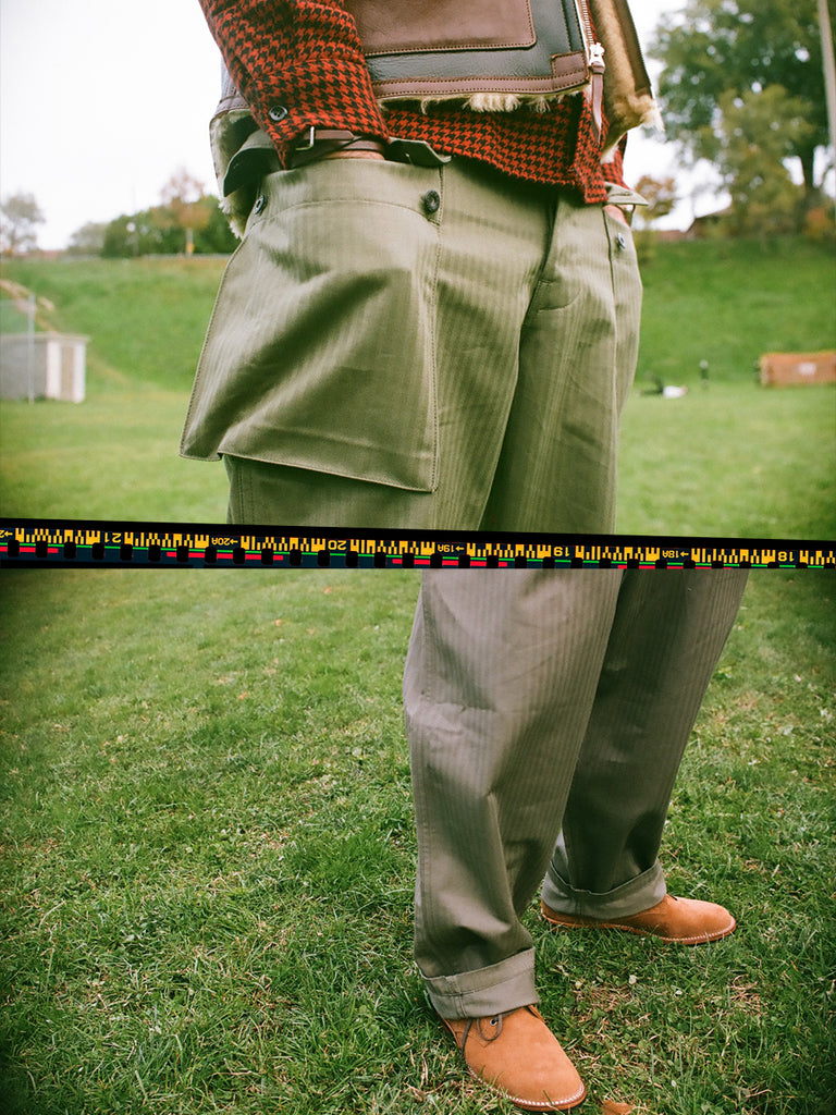 Spotlight The Real McCoy's P-44 HBT Utility Pant 2