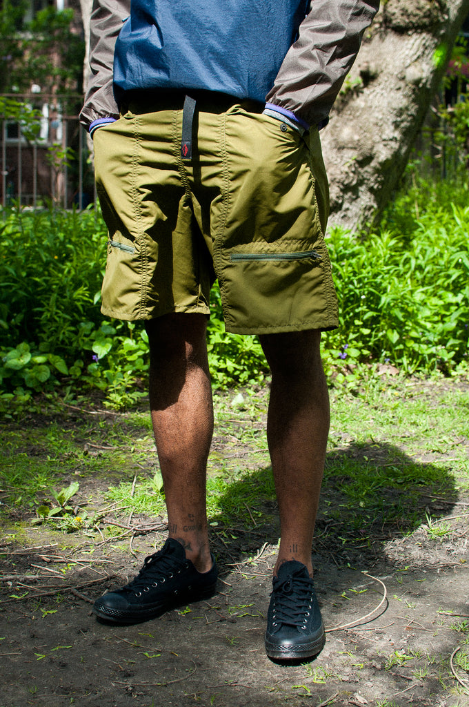 Battenwear Camp Short Olive at shoplostfound 2