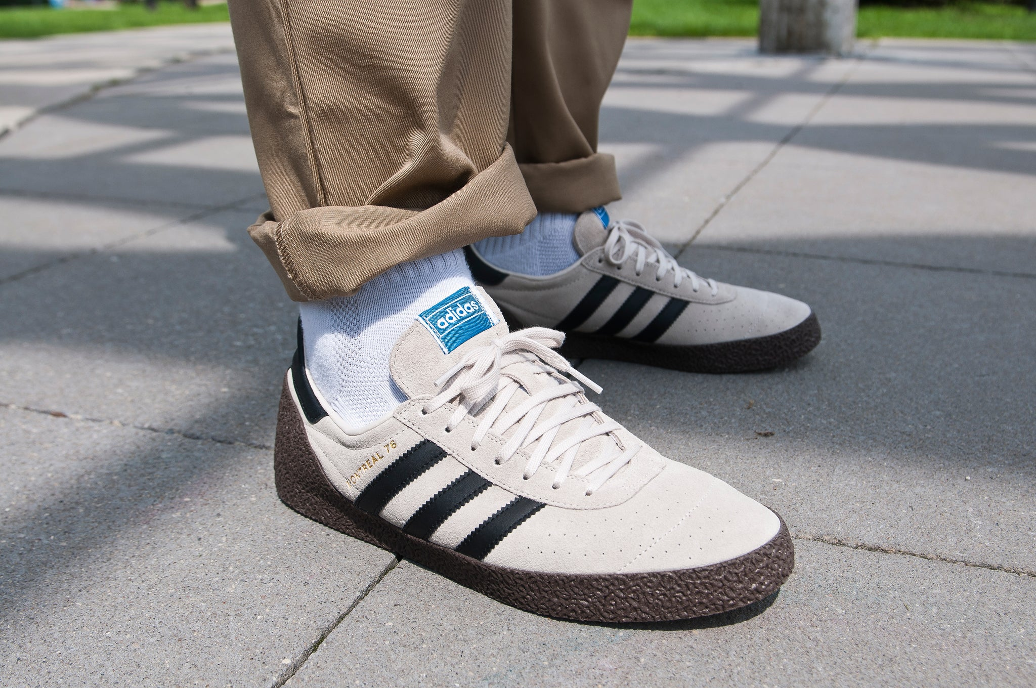 Adidas Originals Montreal '76 Clear Brown/Core Black at shoplostfound