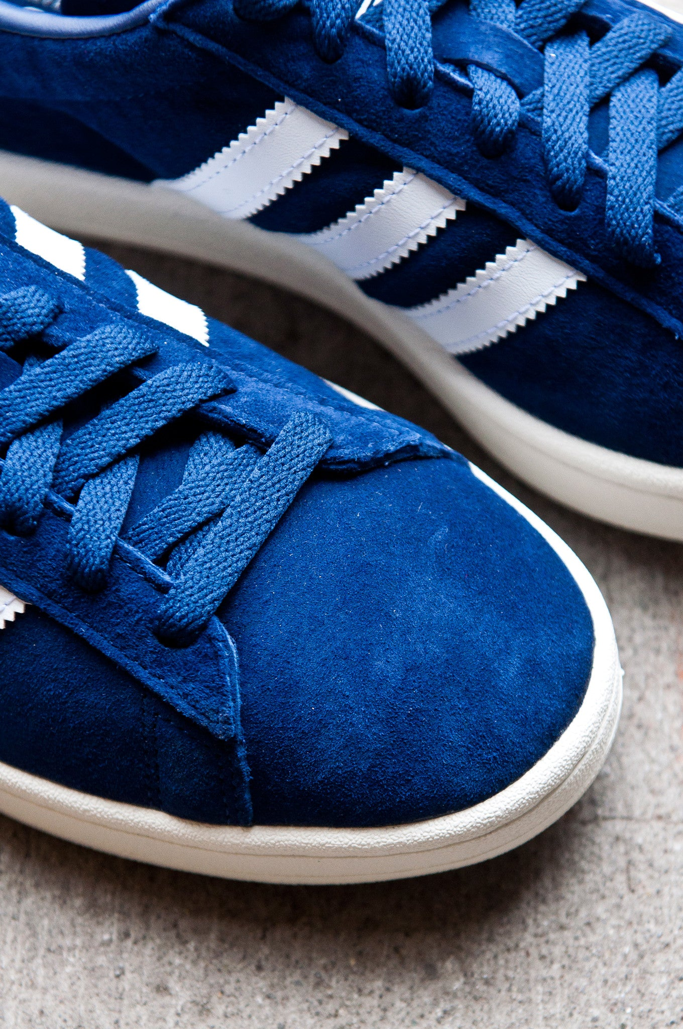 Adidas Campus Classic DK Blue White Navy BZ0086 at shoplostfound 2