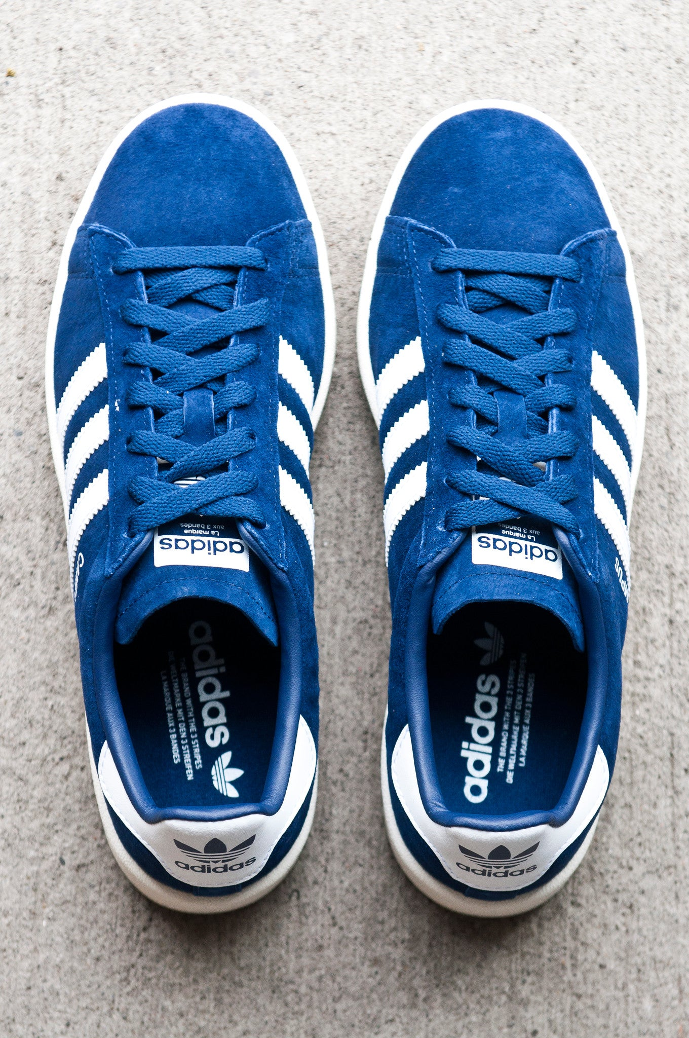 Adidas Campus Classic DK Blue White Navy BZ0086 at shoplostfound 3