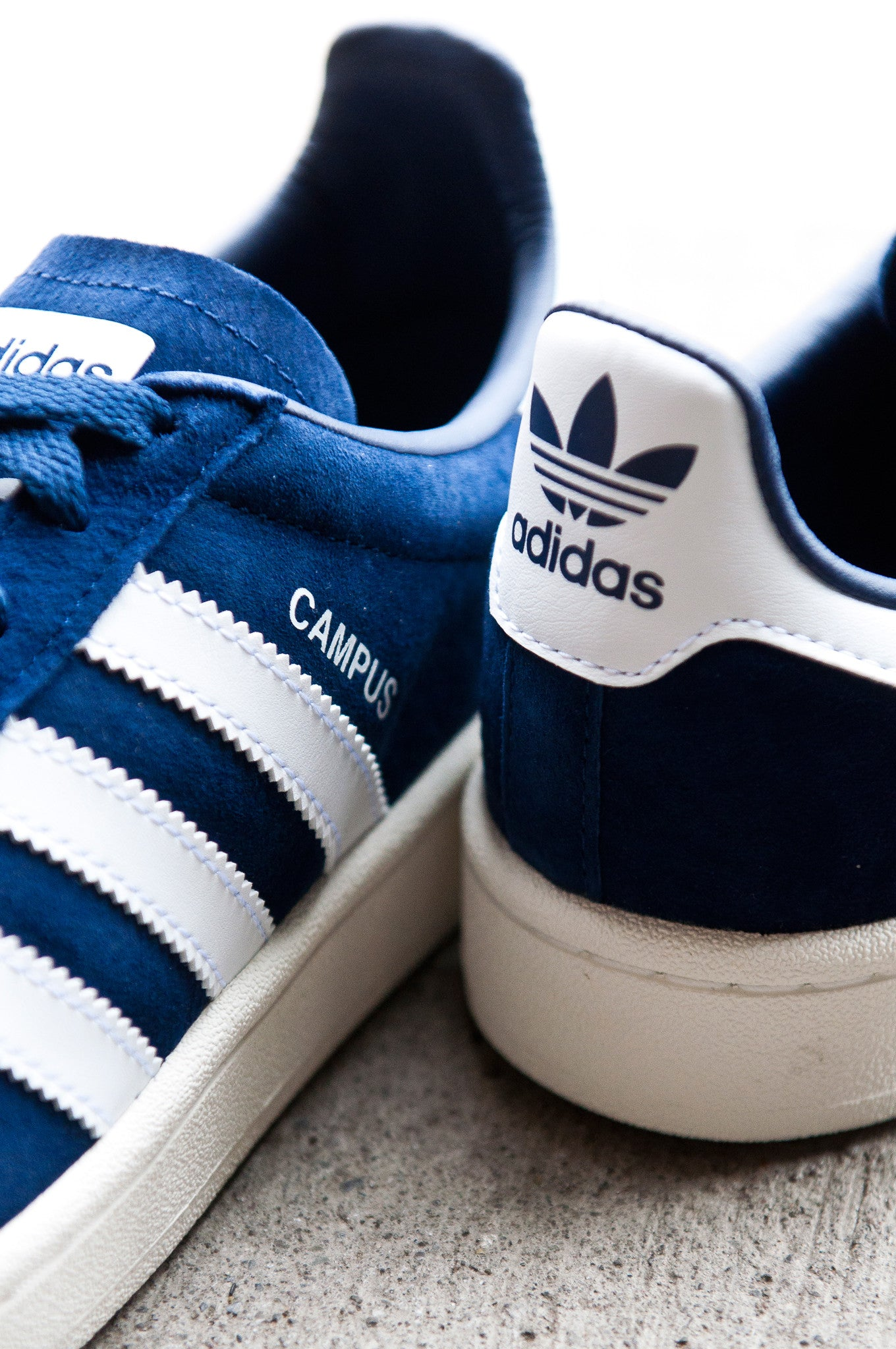 Adidas Campus Classic DK Blue White Navy BZ0086 at shoplostfound 4
