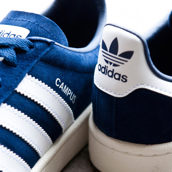 Adidas Originals Campus DK Blue/White at shoplostfound