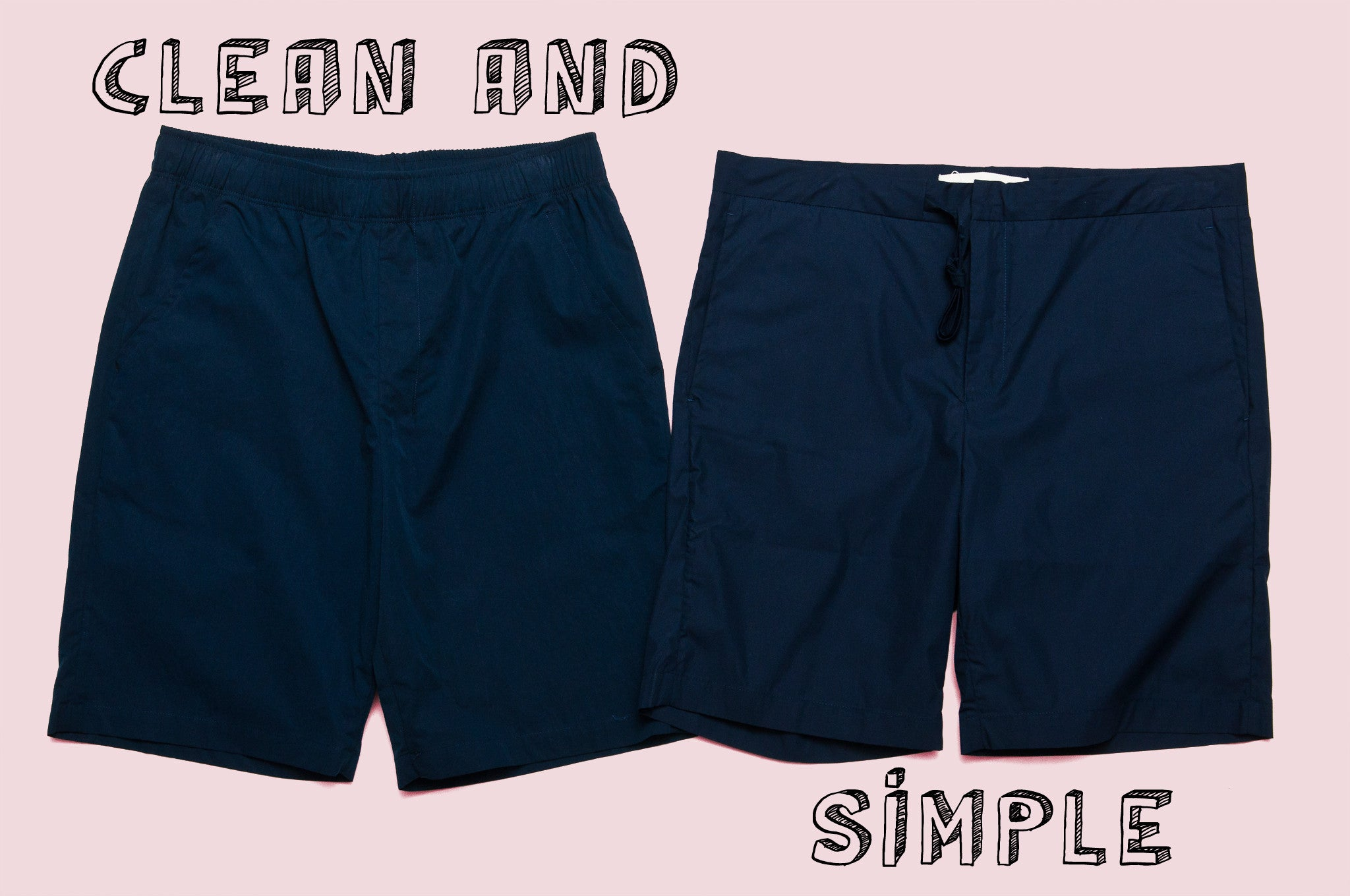 Adsum Bank Shorts and Norse Projects Regin Poplin Shorts