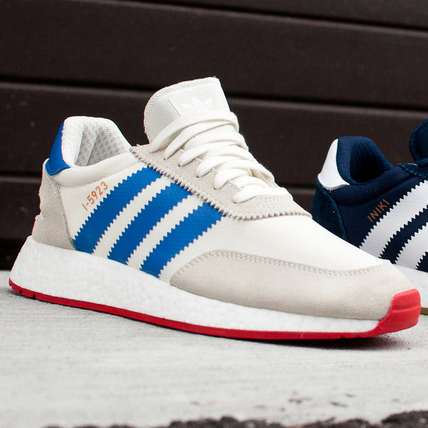 Adidas Originals Iniki Runner White/Blue at shoplostfound Preview