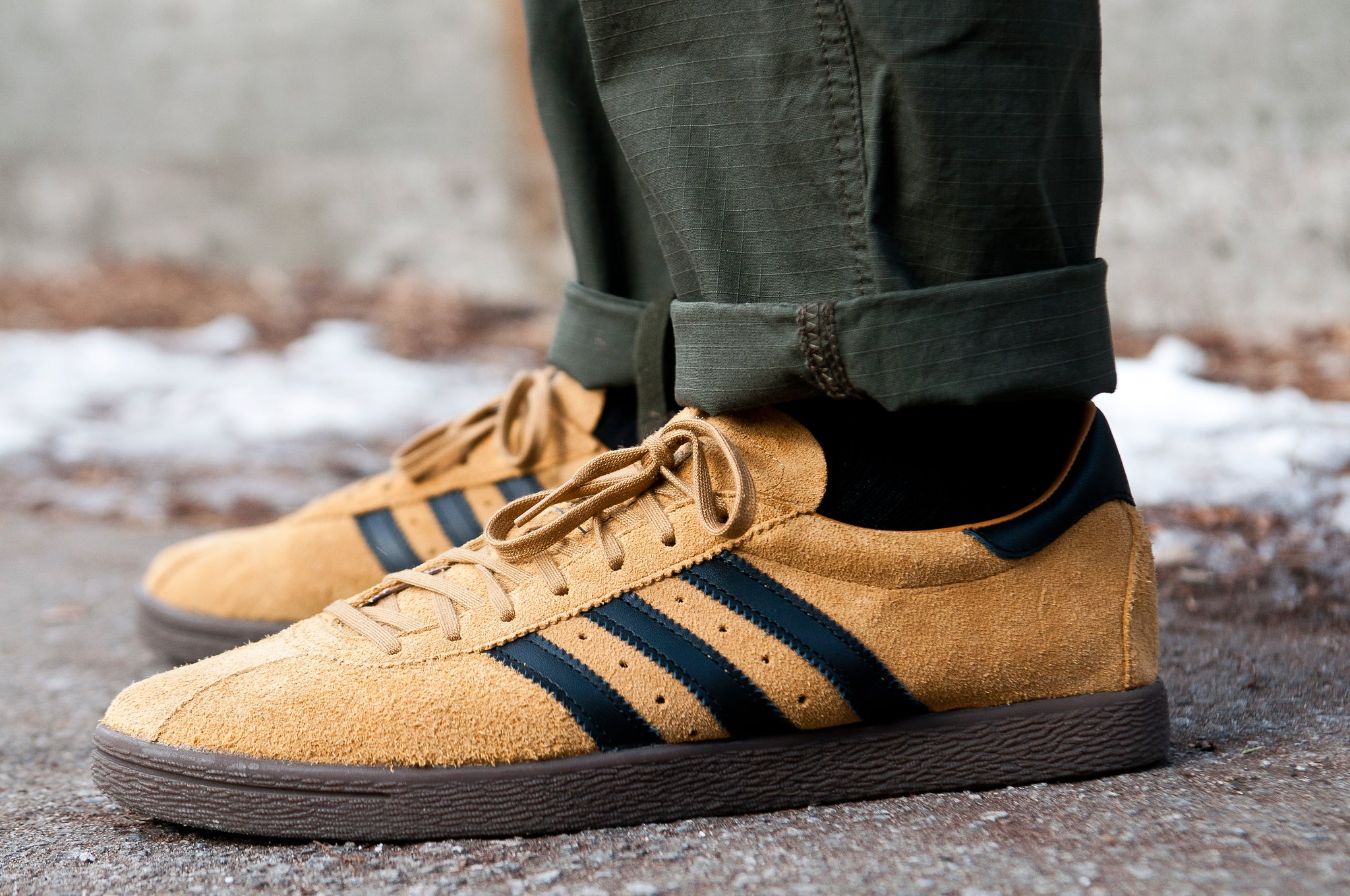 Adidas Originals Tobacco Mesa/Black at shoplostfound 2