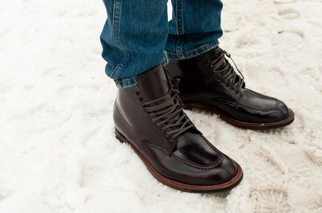 Alden Colour 8 Cordovan Indy Boot with Commando Sole S/H at shoplostfound