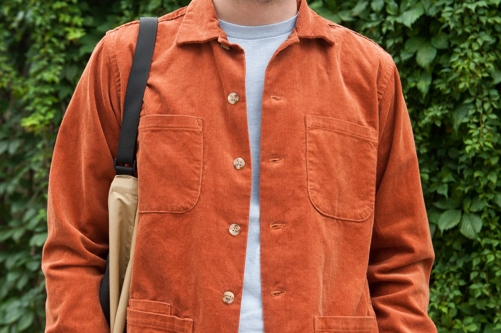 Battenwear 5 Pocket Canyon Shirt Russet at shoplostfound 2
