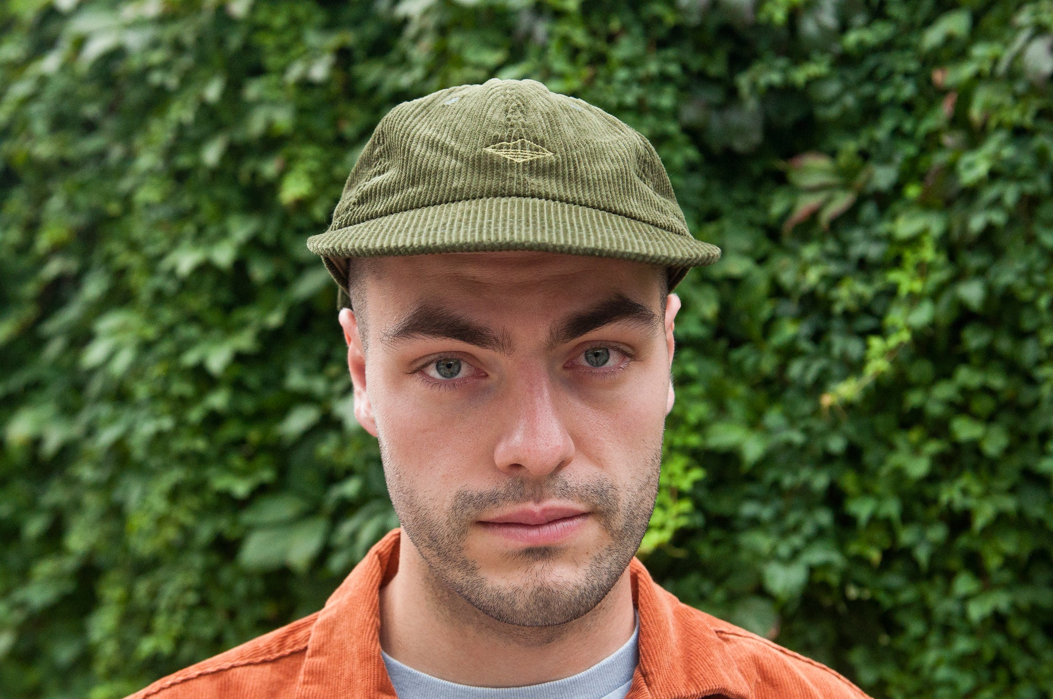 Battenwear Field Cap Olive Corduroy at shoplostfound