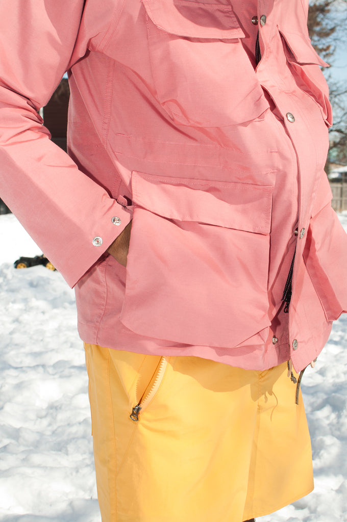 Battenwear Light Shell Parka Pink at shoplostfound 2