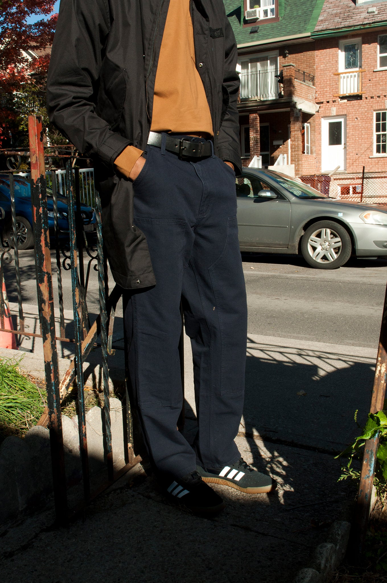 Carhartt W.I.P. Double Knee Pant Dark Navy at shoplostfound