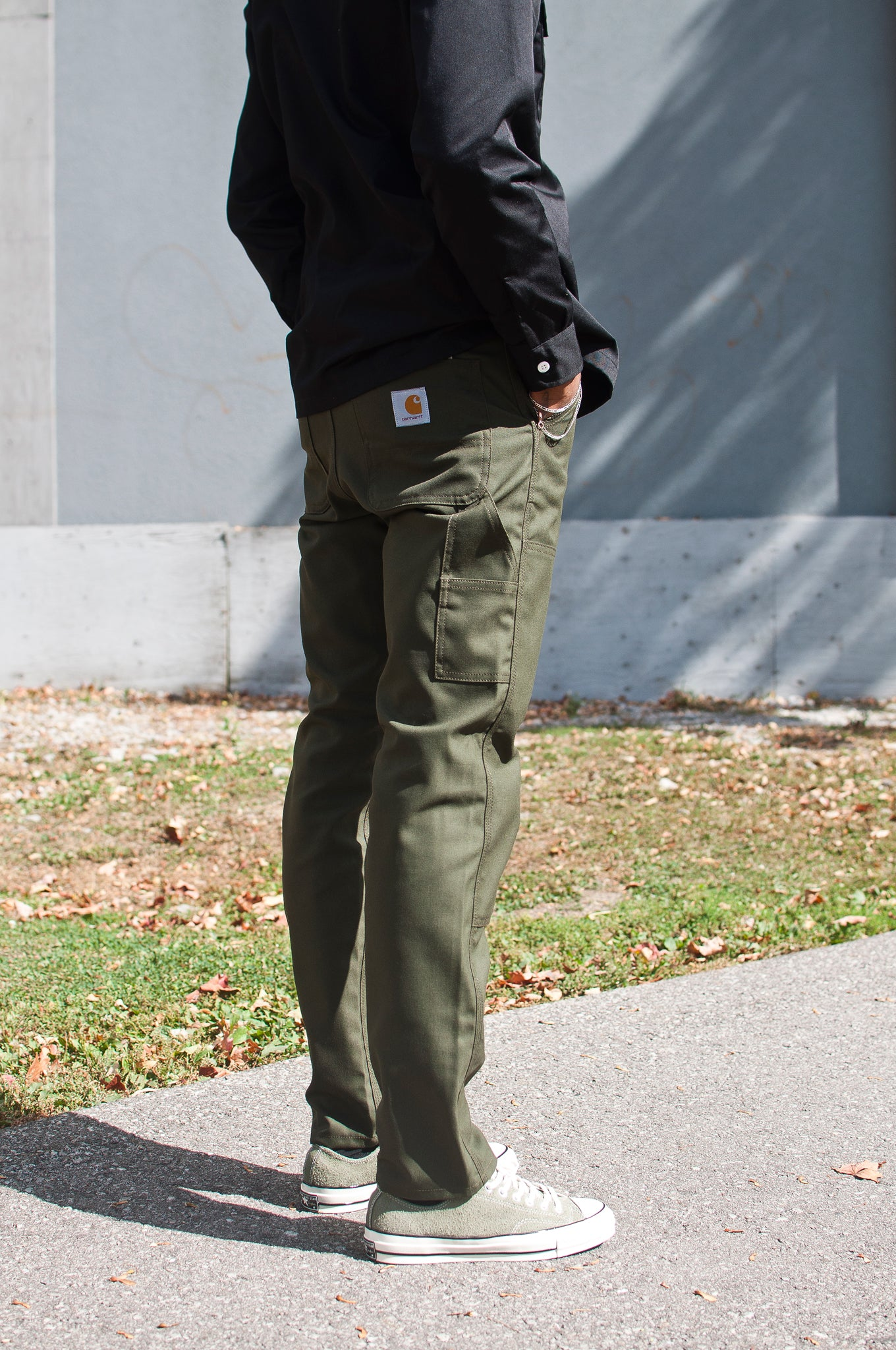 Carhartt W.I.P. Ruck Double Knee Pant Cypress at shoplostfound