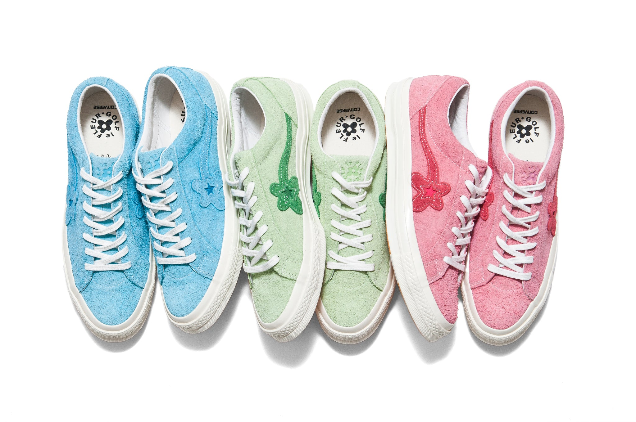 Golf le Fleur x Converse One Star at shoplostfound Set