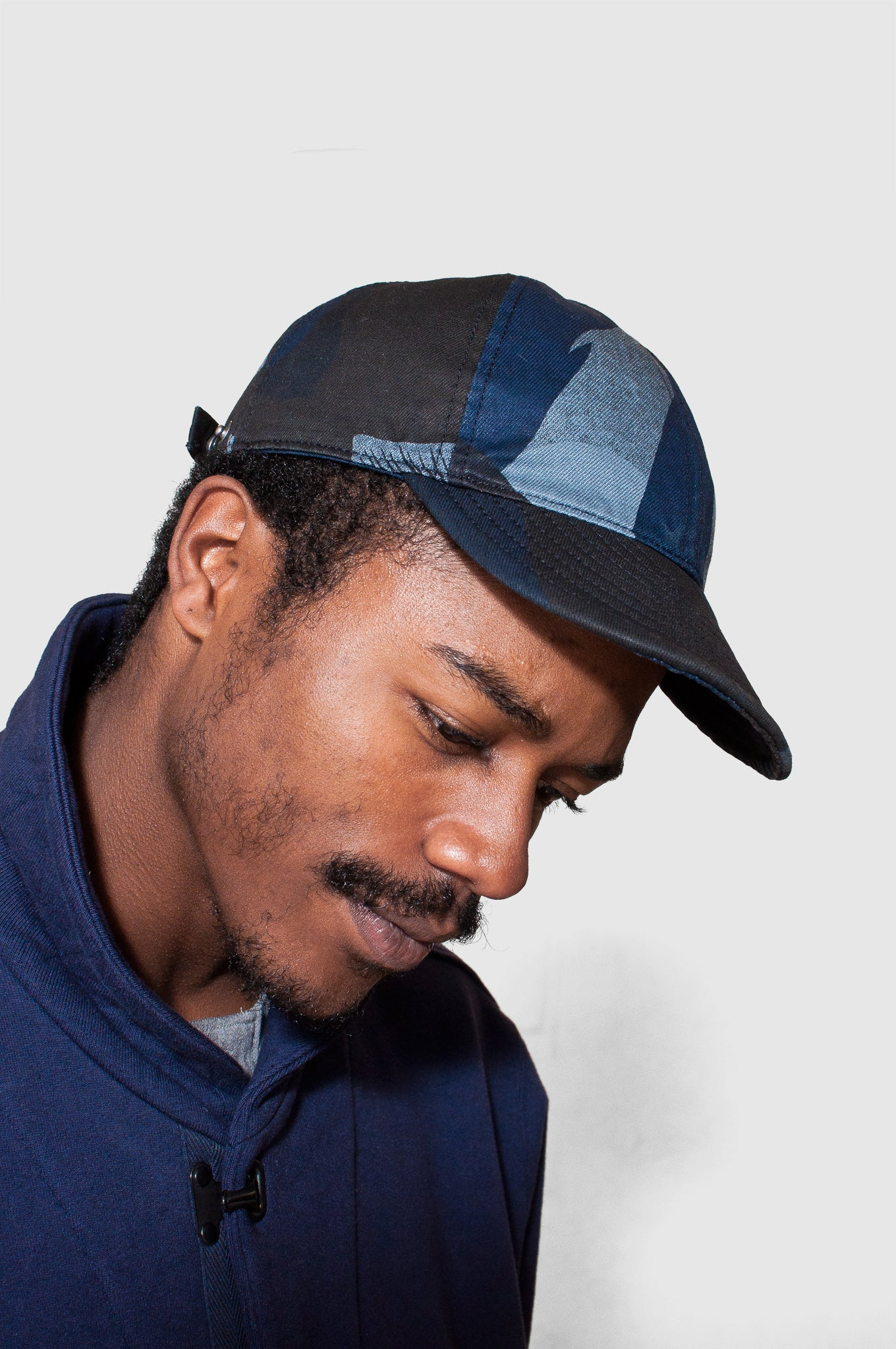 Nigel Cabourn Mechanics Cap Camo at shoplostfound
