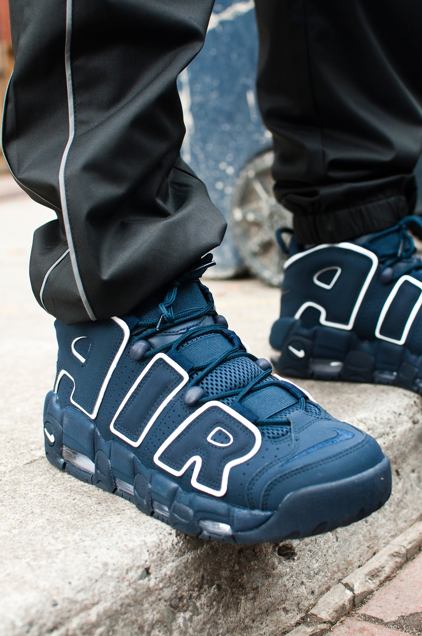 Nike Air More Uptempo '96 Obsidian at shoplostfound 1
